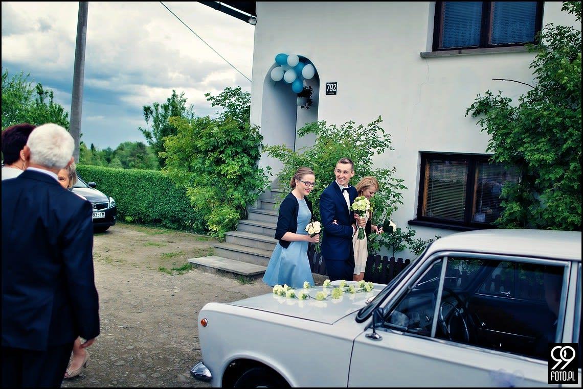 Fotograf ślubny Skomielna Czarna