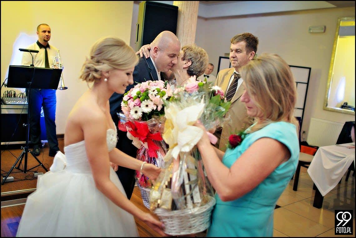 Zdjęcia ślubne Restauracja Magnolia Budzów