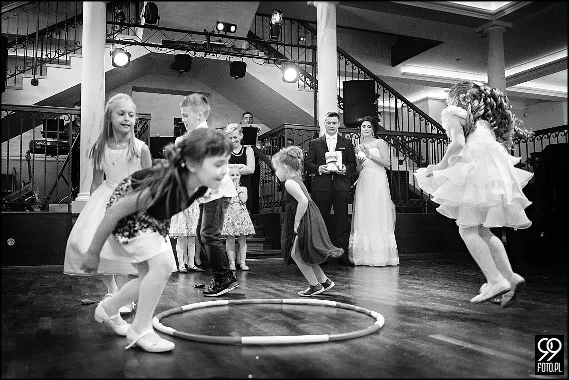 Zdjęcia ślubne w Restauracji Victoria - Rabka Zdrój