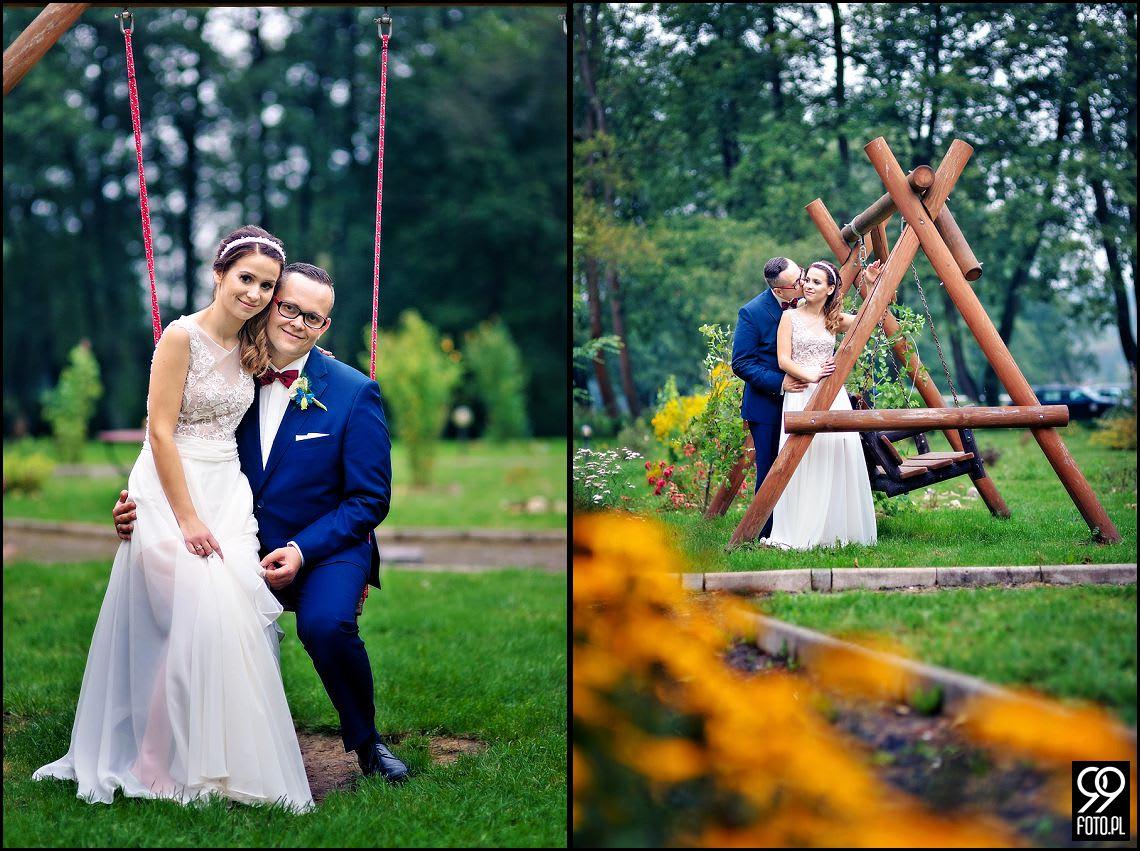 Zdjęcia ślubne Zajazd Polesie Przybysławice