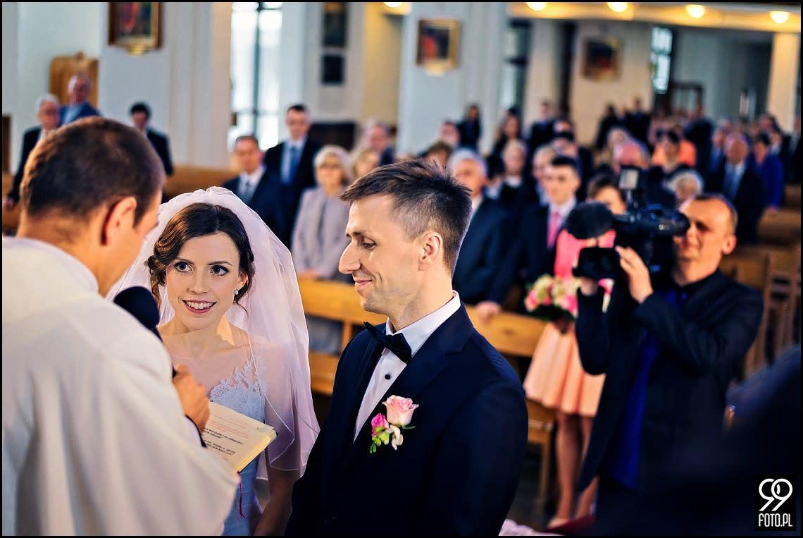 Zdjęcia Ślubne w Domu weselnym Gościniec Branicki