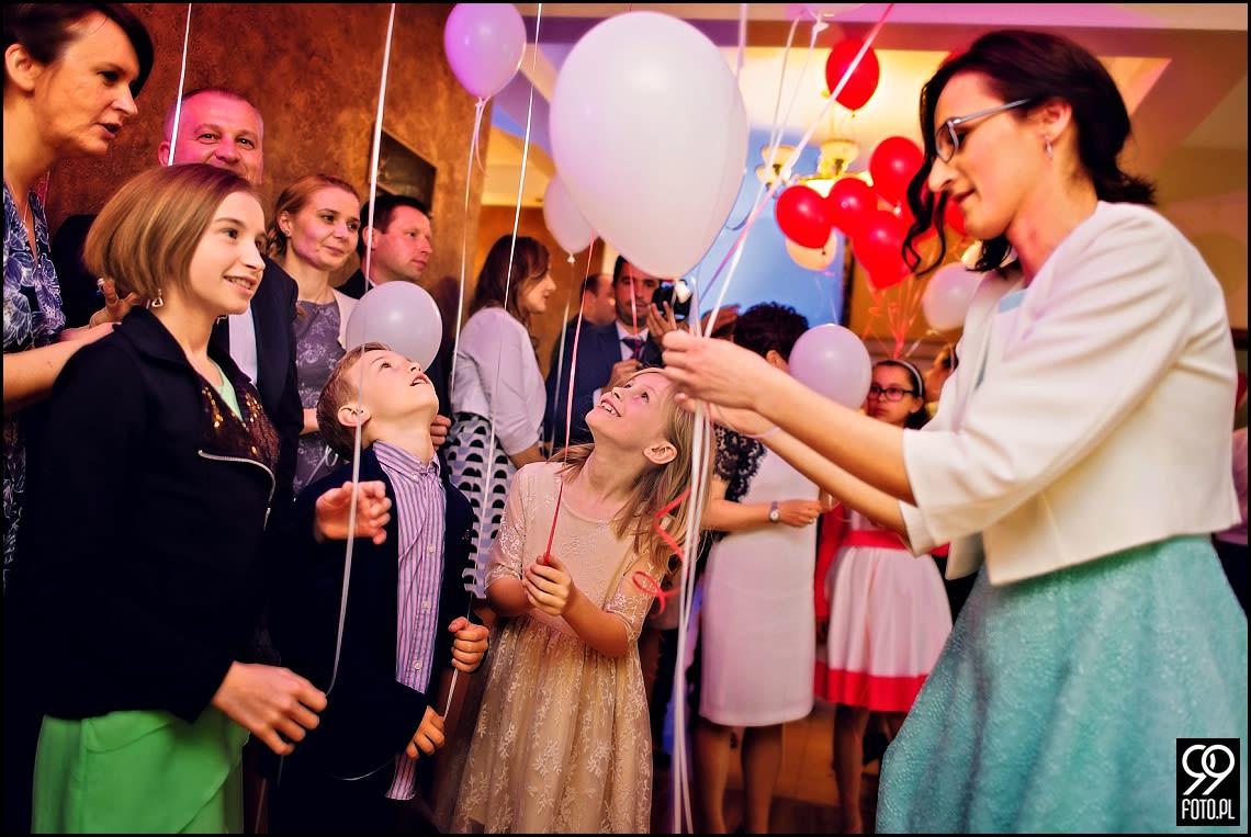 Fotograf na wesele Willa Podlesie Rzuchowa