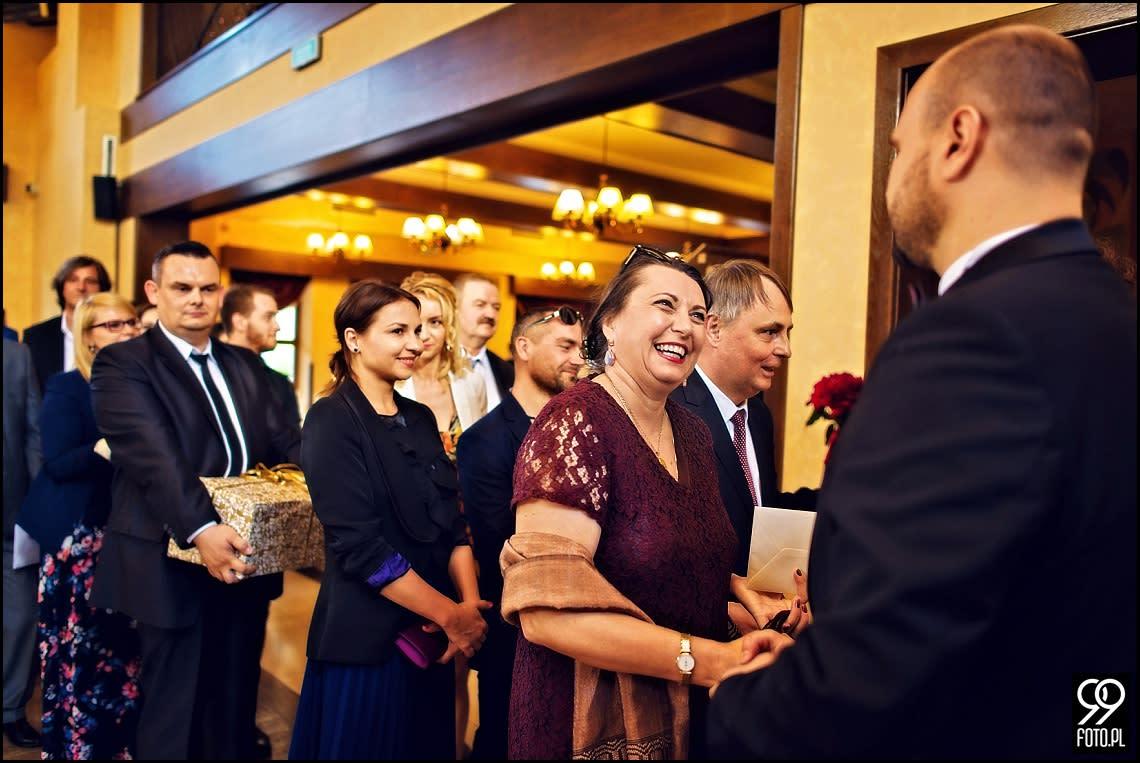 Reportaż ślubny Kraków, zdjęcia w Hotelu Górski Raj