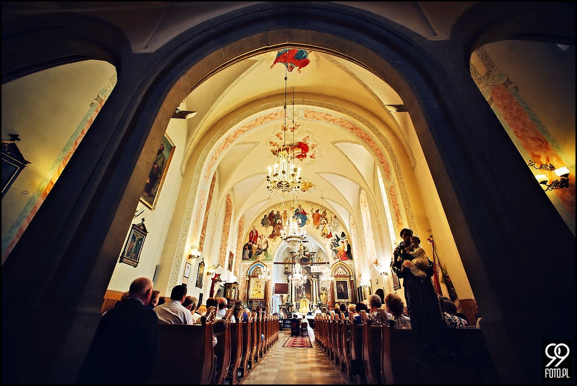 Reportaż ślubny Bolechowice, Dom Weselny u Niedźwiedzia