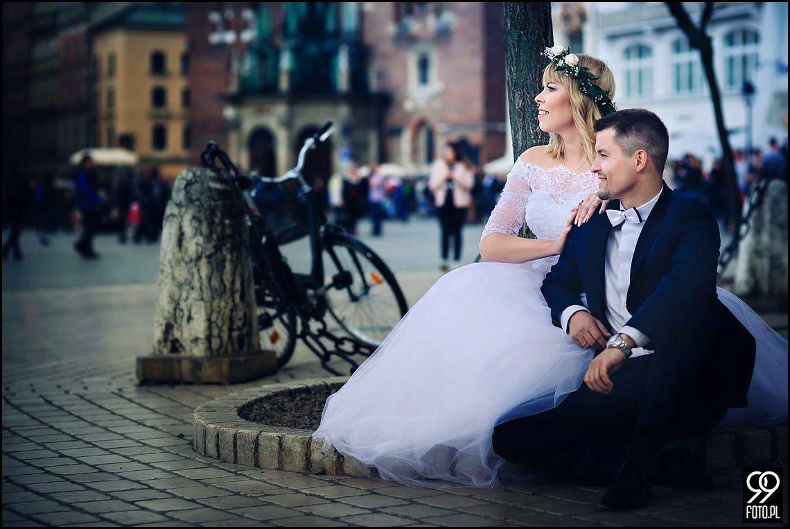Sesje plenerowe ślubne Kraków