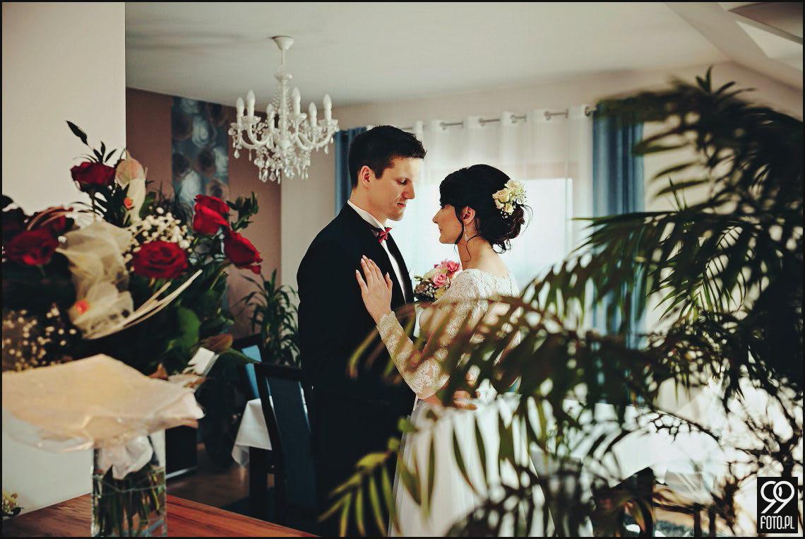 Hotel Margerita Kraków, magiczny wystrój sali weselnej, ślub w Krakowie