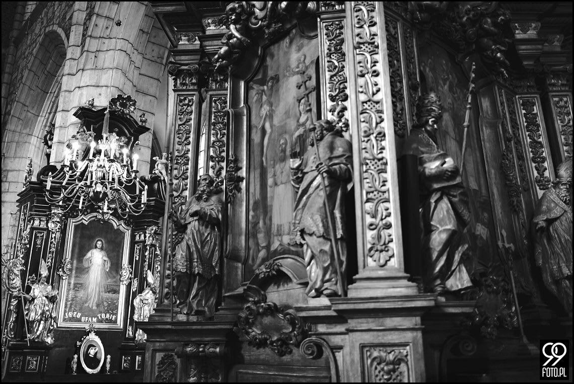 Bazylika Bożego Ciała Kraków, Fotoreportaż Ślubny