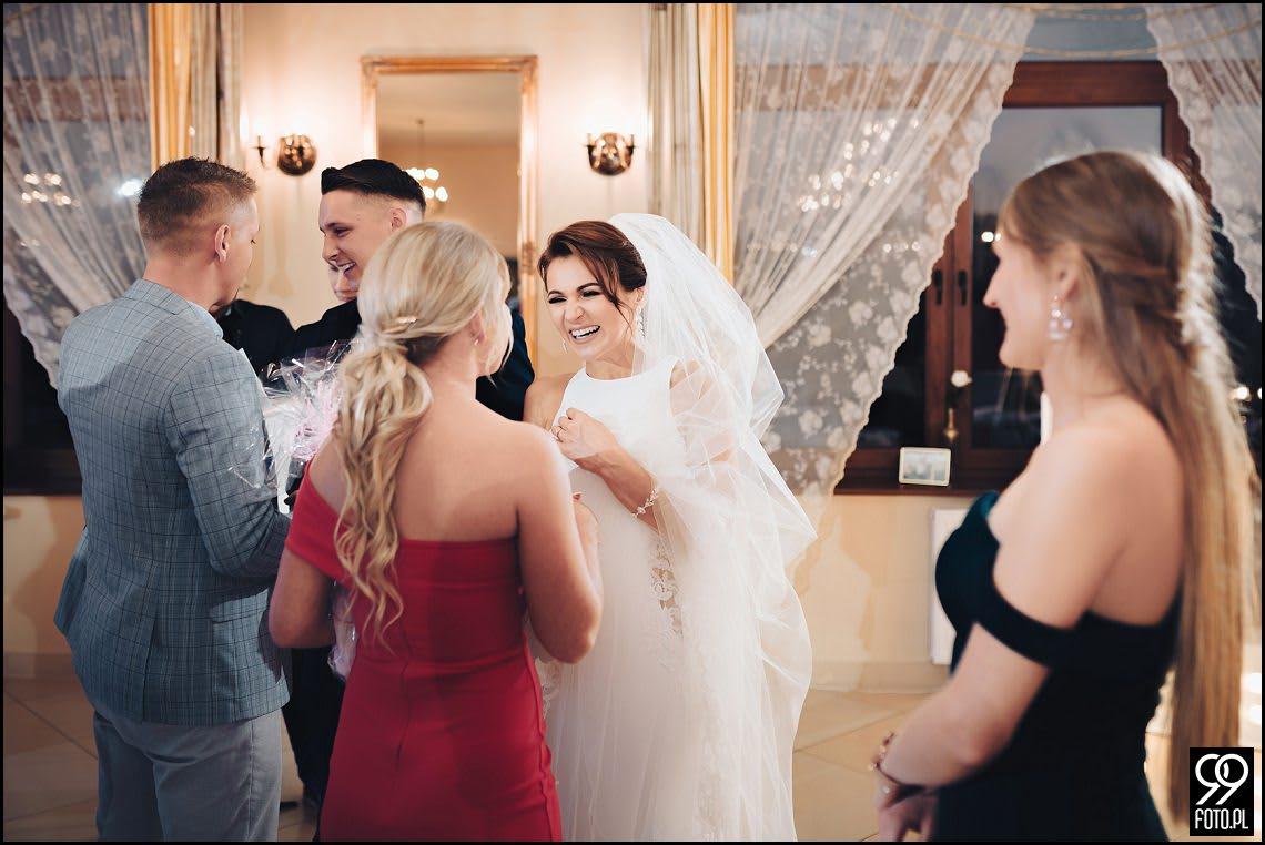 Dworek Fantazja Skomielna Biała i Ślub w Stylu Glamour