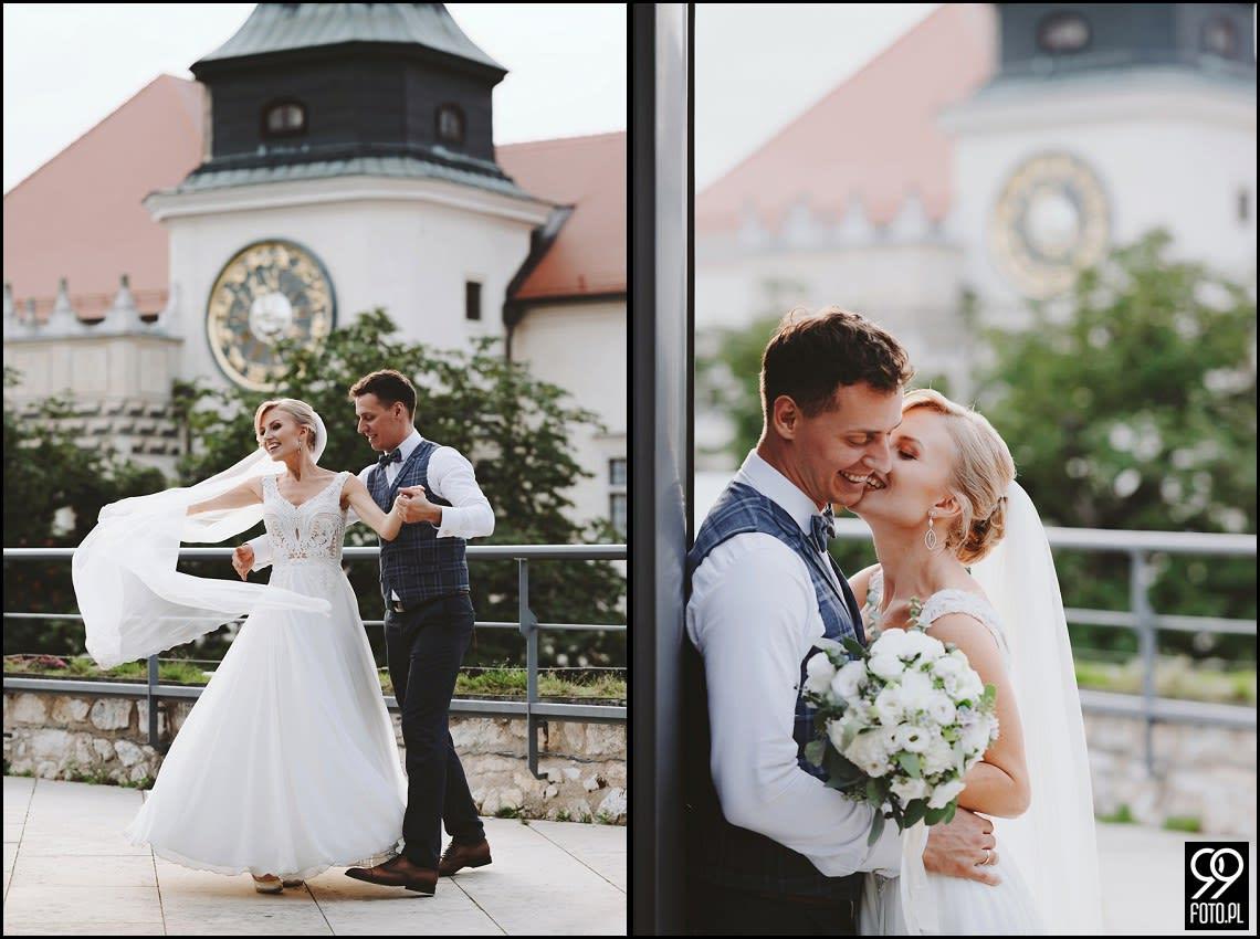 Plener ślubny w Zamku Pieskowa Skała
