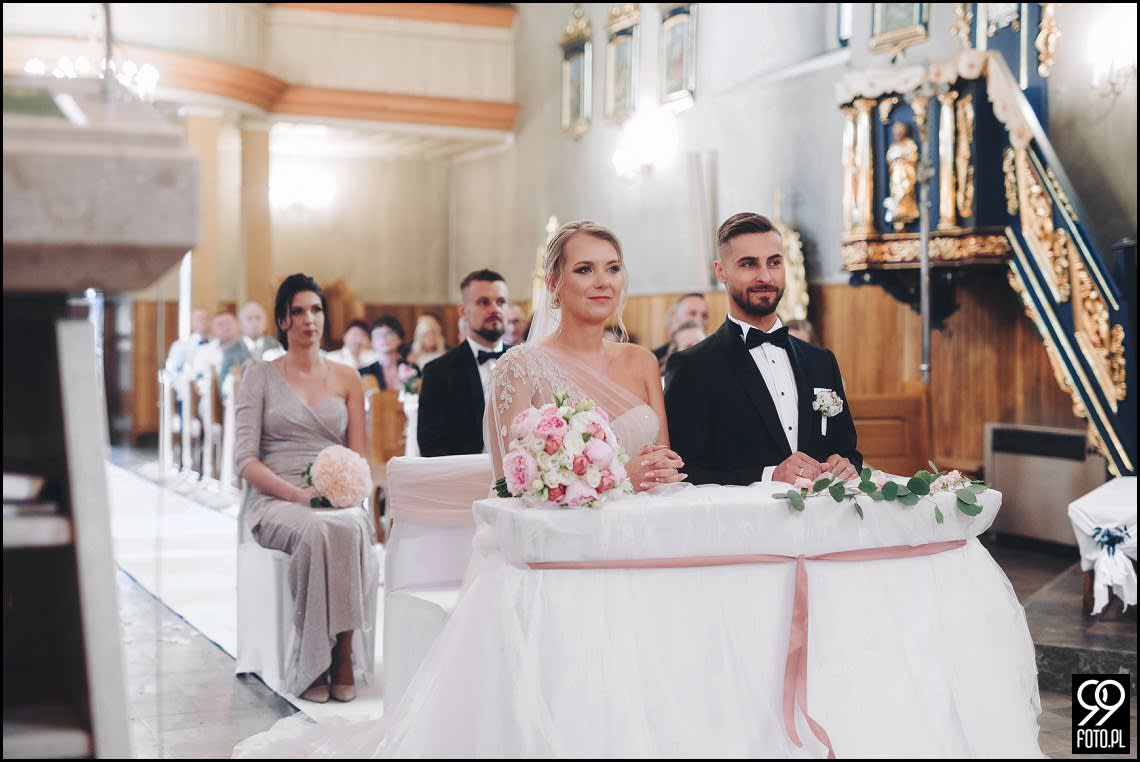 Dom Weselny Biała Perła Radziemice, reportaż ślubny