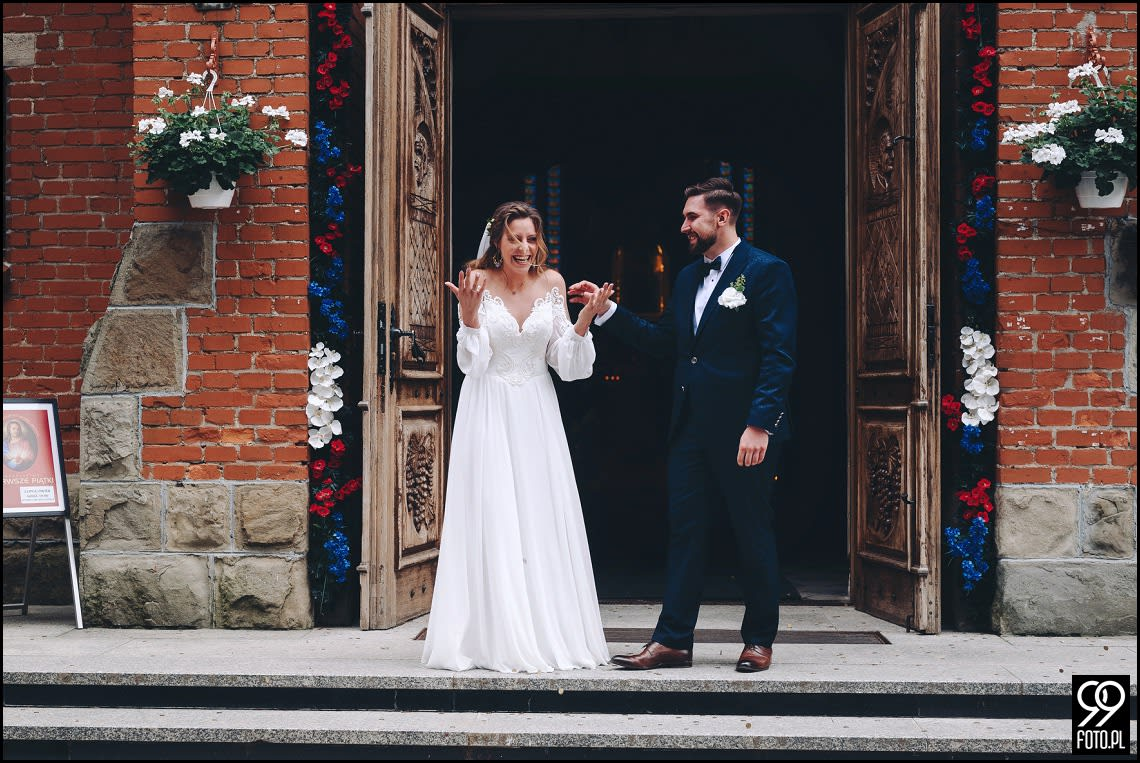 Fotograf na wesele Rabka Zdrój, Kościół św. Marii Magdaleny