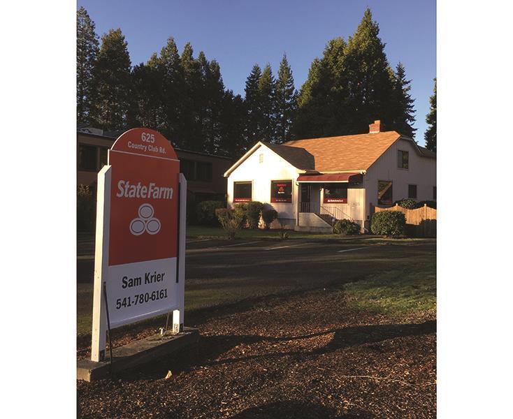 Sam Krier - State Farm Insurance Agent | 625 Country Club Rd, Eugene, OR, 97401 | +1 (541) 780-6161