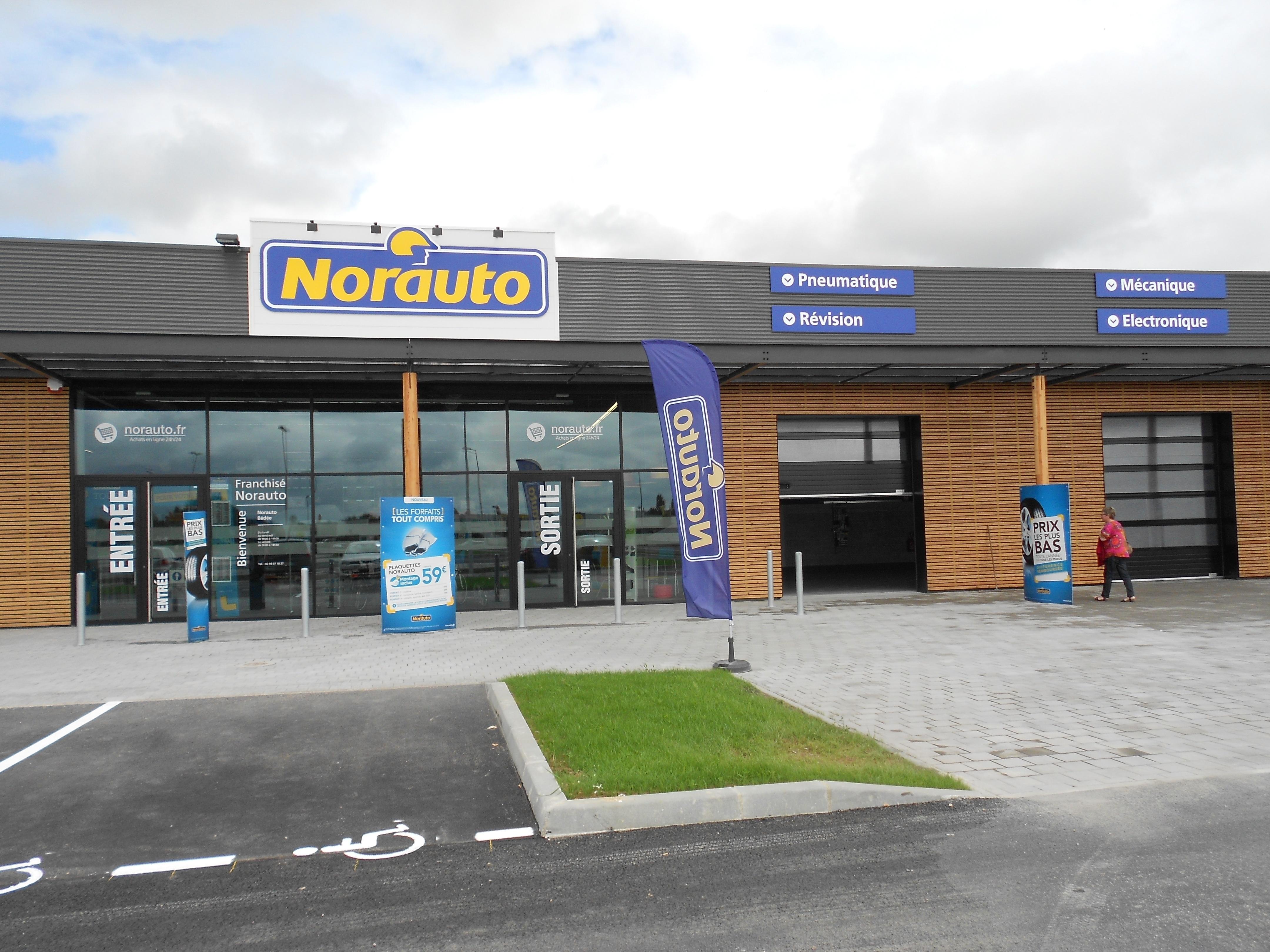Votre centre auto Norauto Montfort Sur Meu