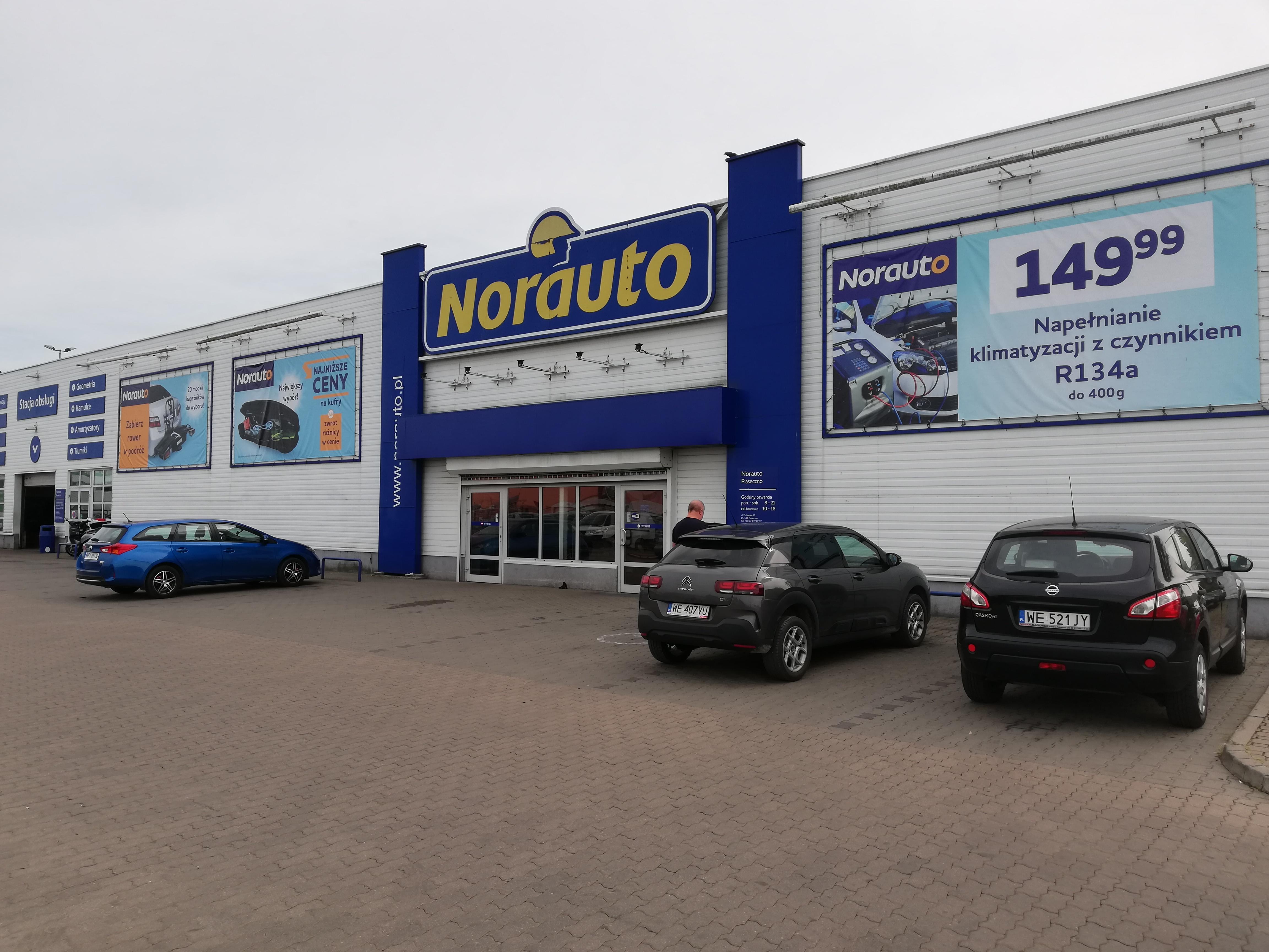 Twój sklep i serwis Norauto Piaseczno