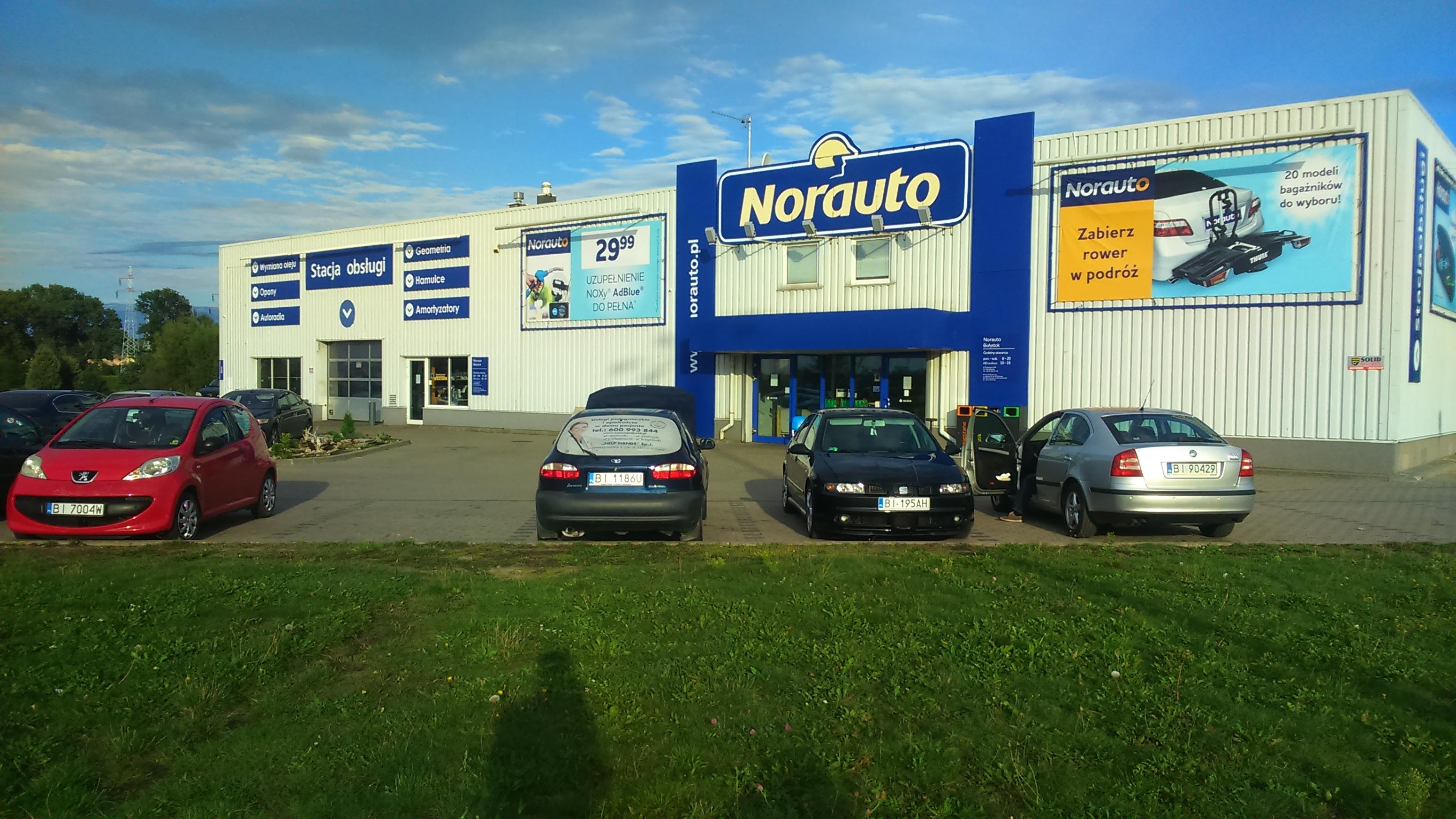 Twój sklep i serwis Norauto Białystok