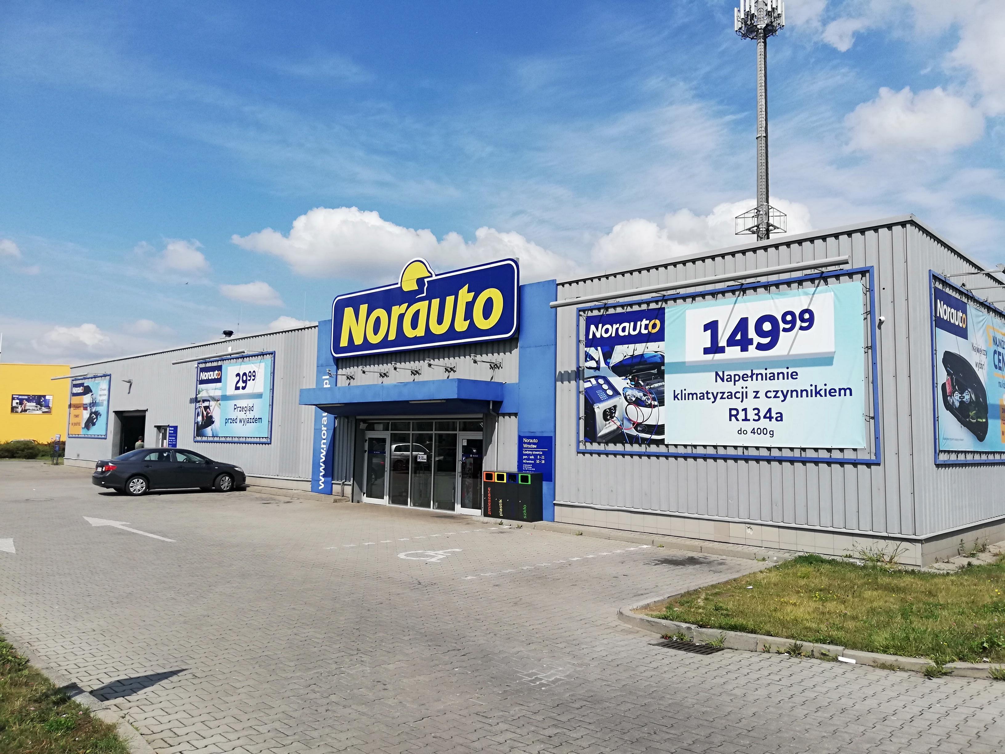 Twój sklep i serwis Norauto Wroclaw Bielany