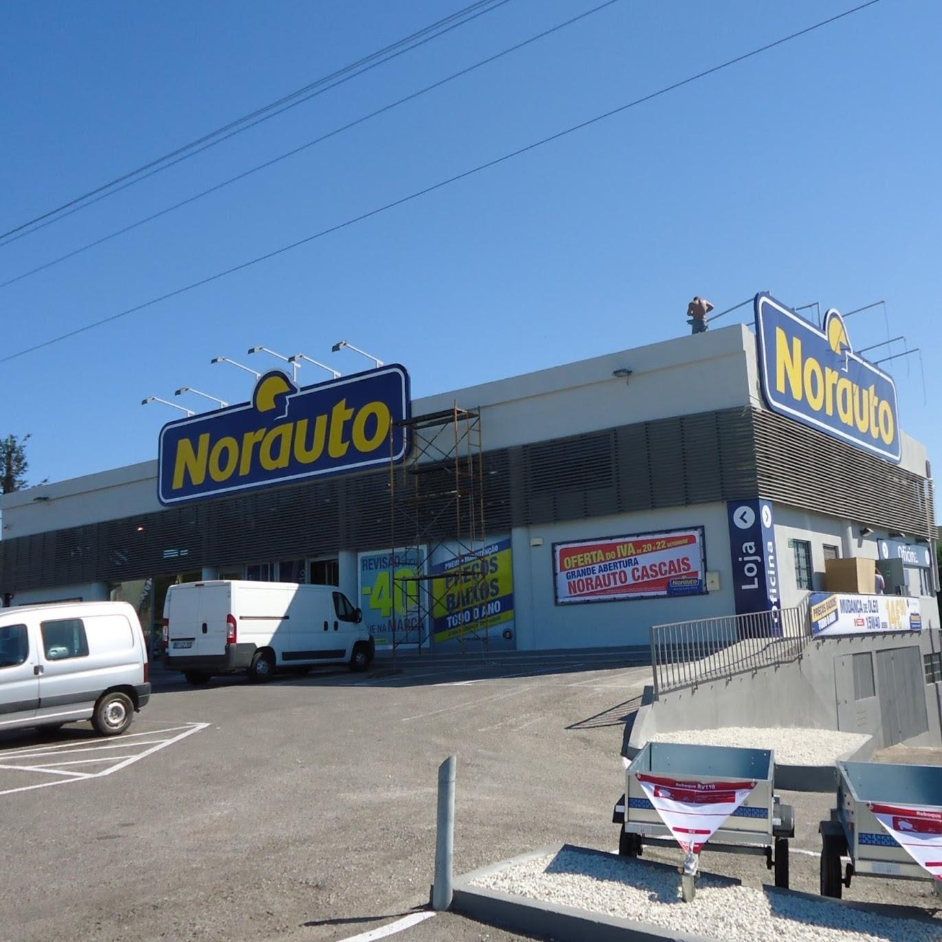 O centro auto Norauto Cascais