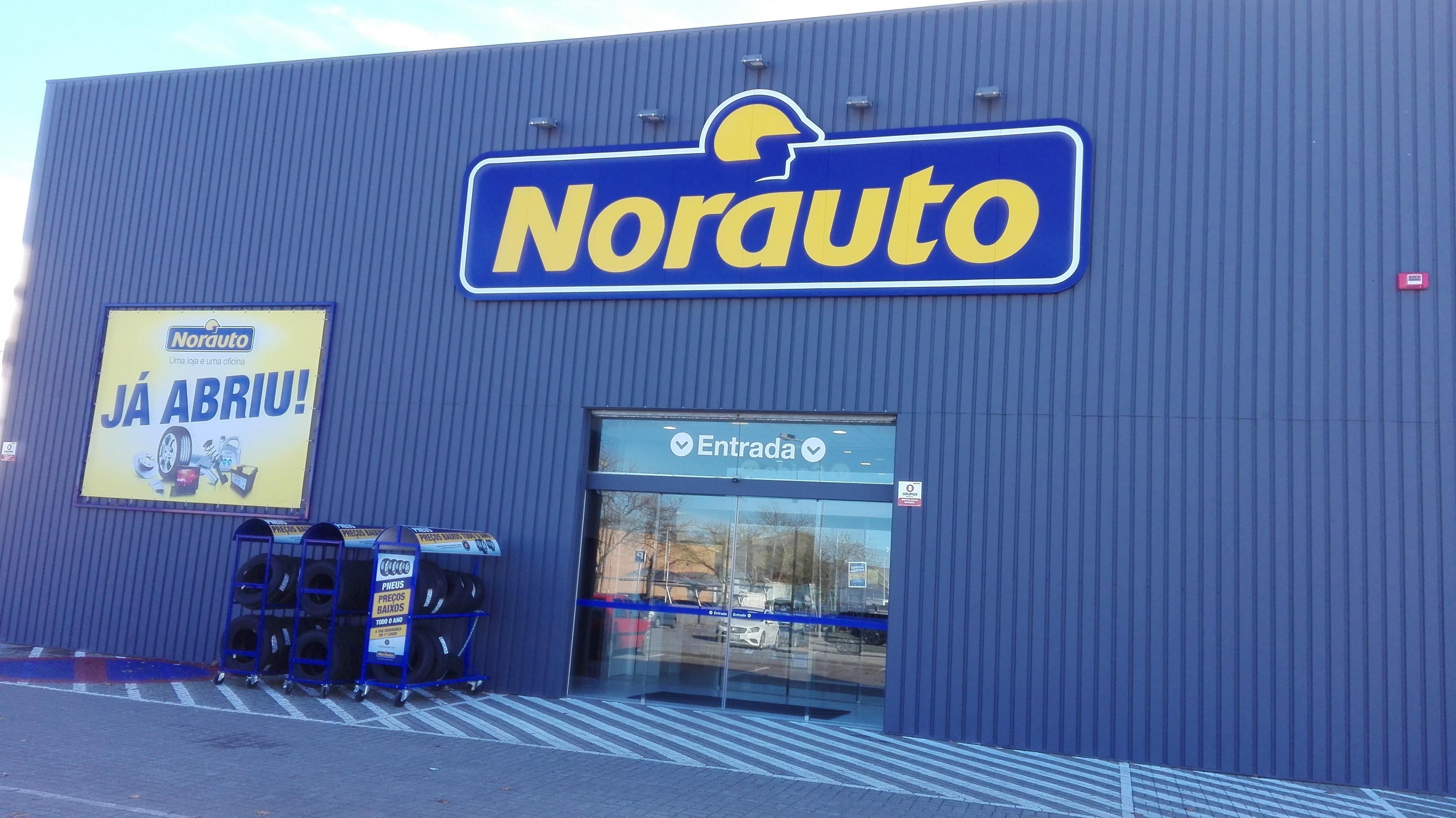 O centro auto Norauto Evora