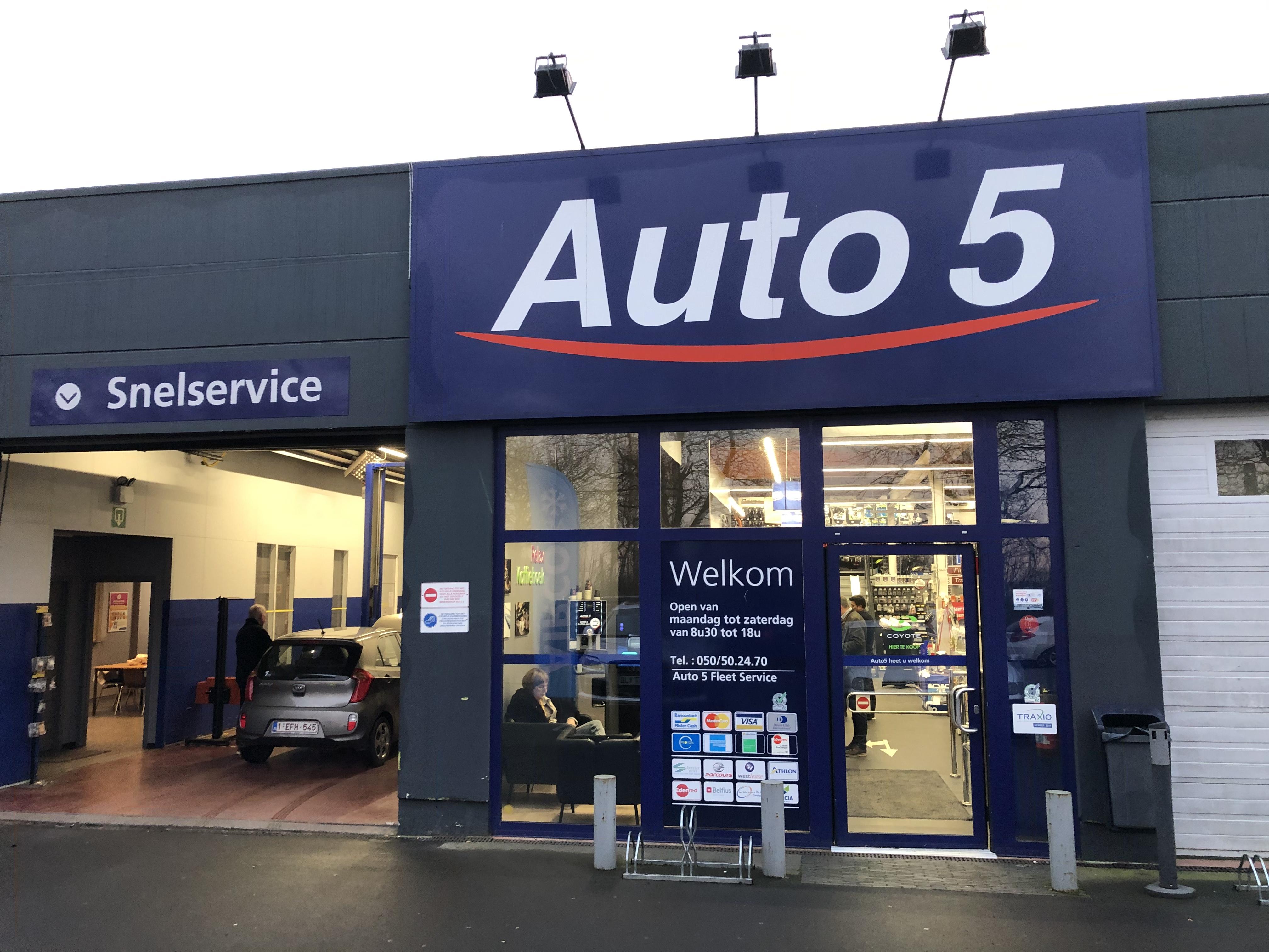 Uw Auto5 Brugge auto center