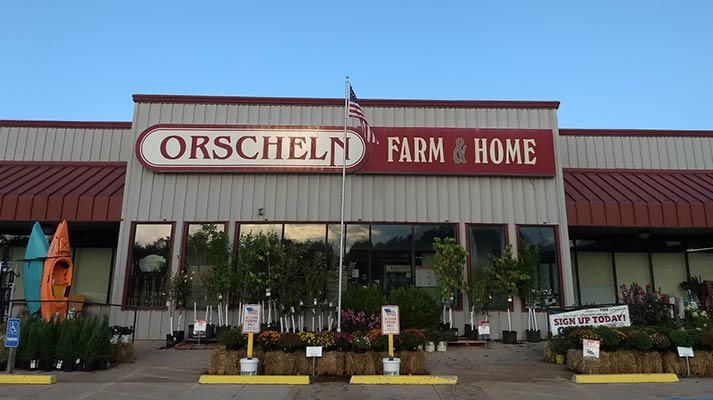 Front view of Orscheln Farm & Home Store in Sedalia, Missouri 65301-6910