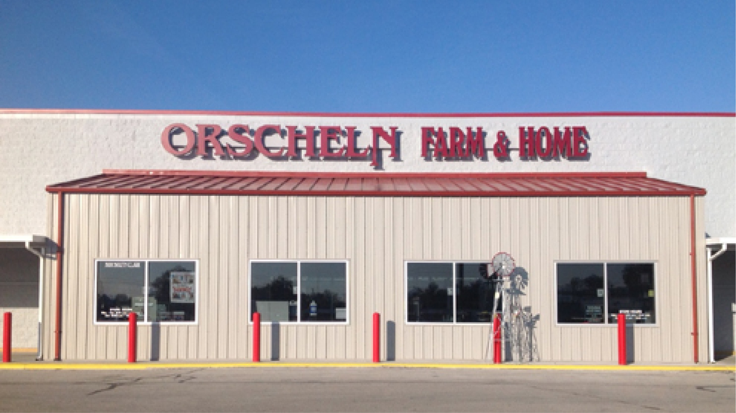 Front view of Orscheln Farm & Home Store in Mexico, Missouri 65265