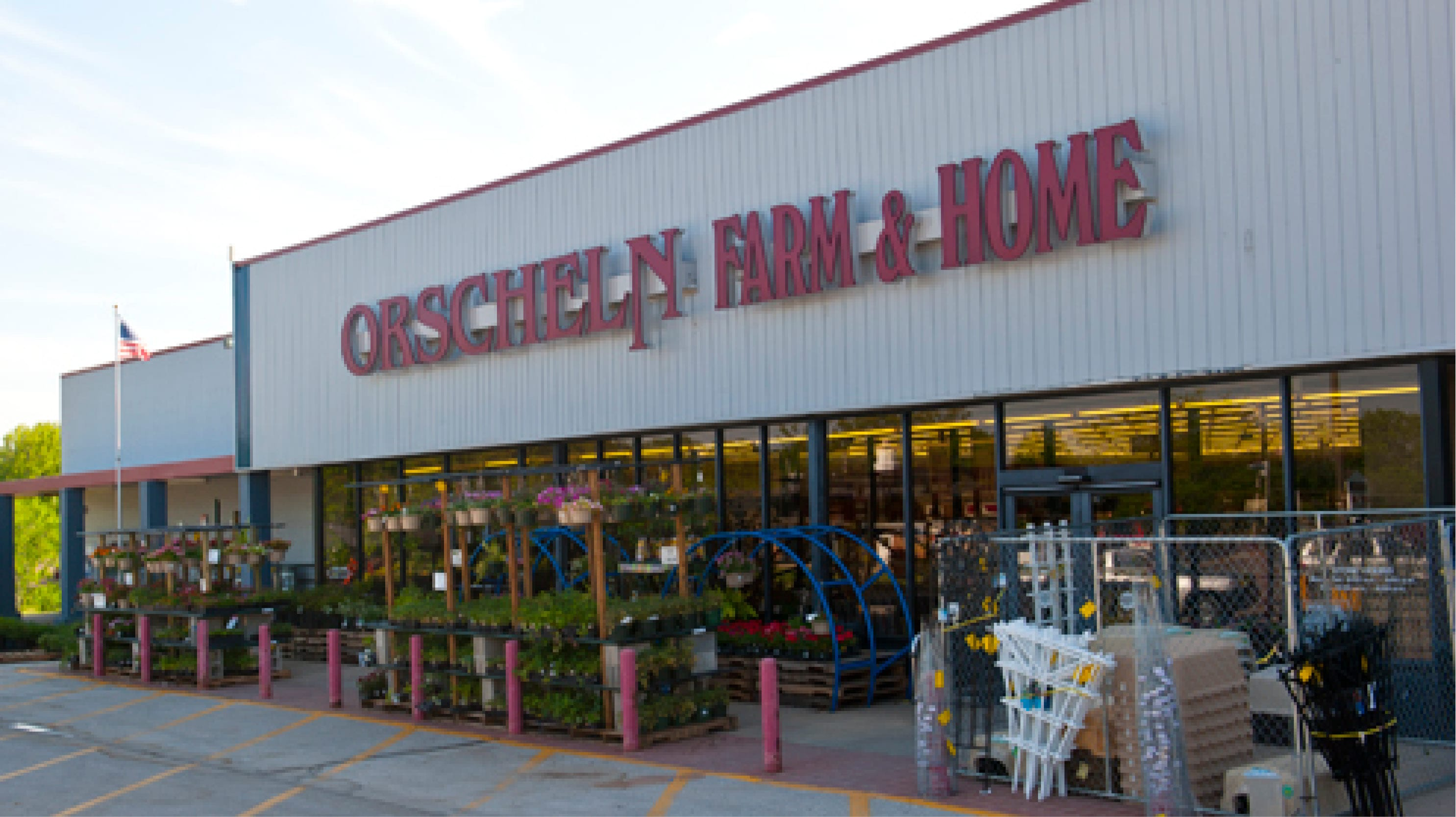 Front view of Orscheln Farm & Home Store in Boonville, Missouri 65233