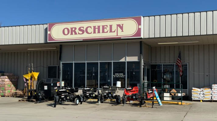 Front view of Orscheln Farm & Home Store in Maryville, Missouri 64468