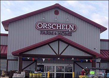 Front view of Orscheln Farm & Home Store in Marshall, Missouri 65340