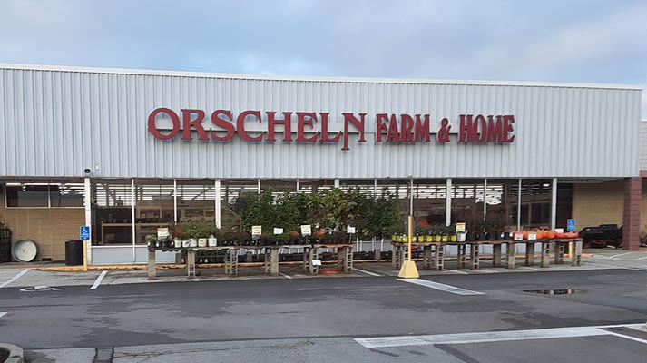 Front view of Orscheln Farm & Home Store in Washington, Missouri 63090