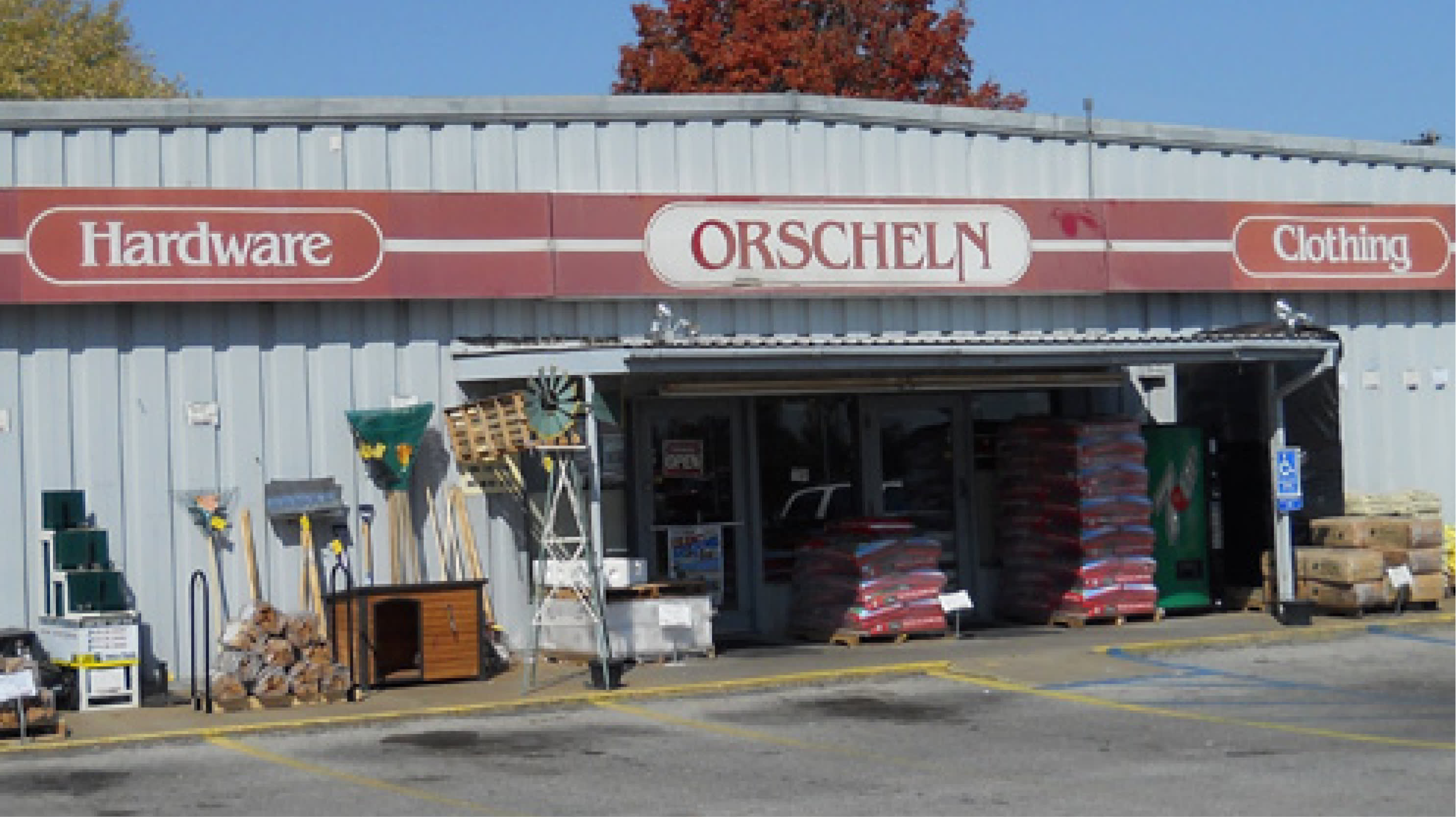 Front view of Orscheln Farm & Home Store in Perryville, Missouri 63775
