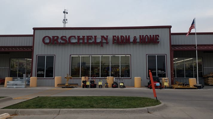 Front view of Orscheln Farm & Home Store in Fairfield, Iowa 52556