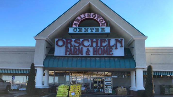 Front view of Orscheln Farm & Home Store in Ada, Oklahoma 74820
