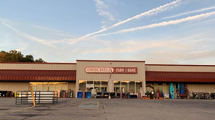 Front view of Orscheln Farm & Home Store in Waynesville, Missouri 65583-3420