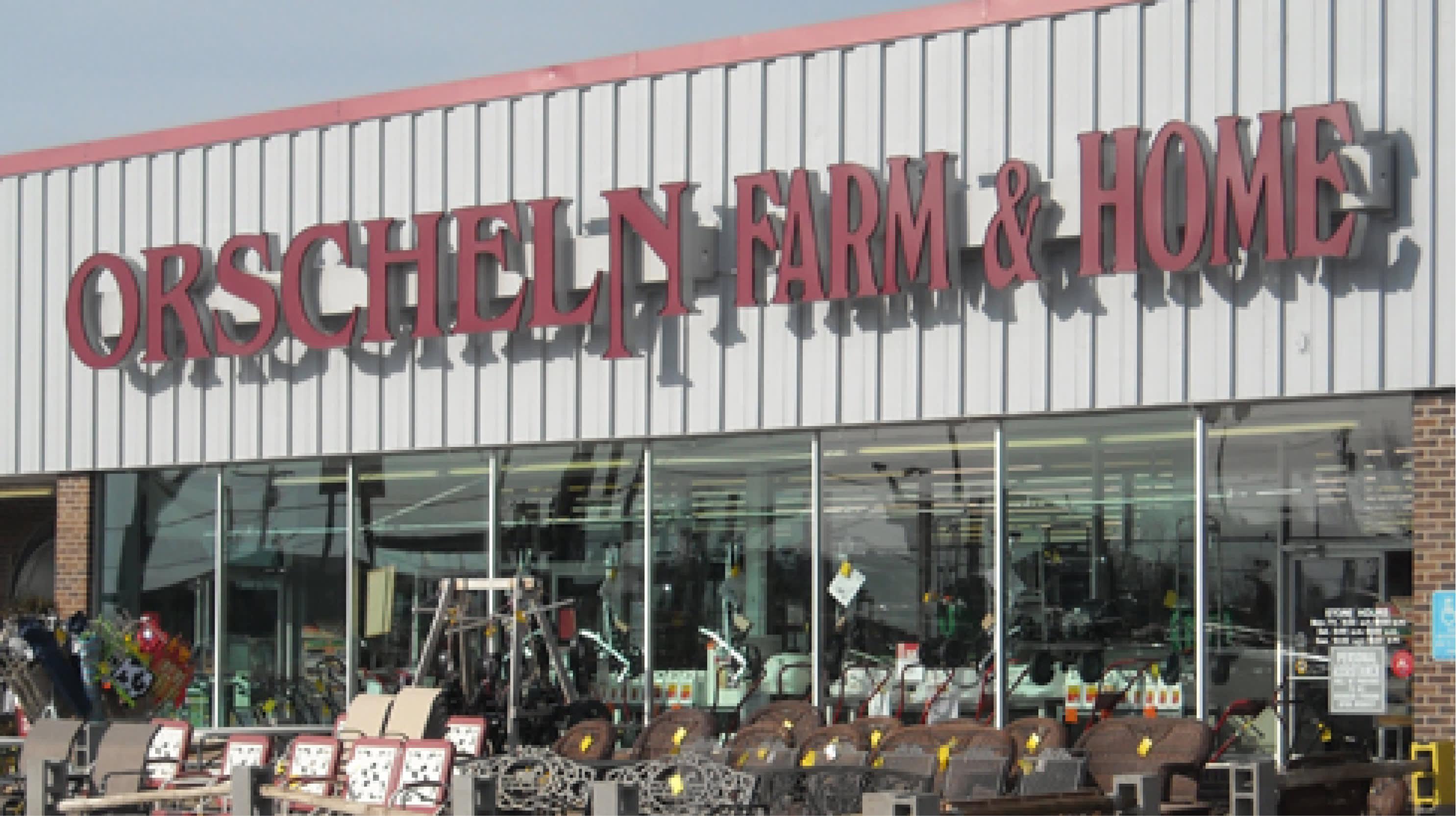 Front view of Orscheln Farm & Home Store in Macon, Missouri 63552