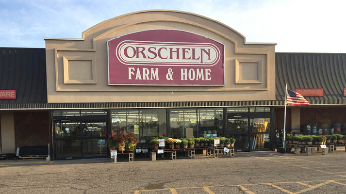 Front view of Orscheln Farm & Home Store in Great Bend, Kansas 67530-3263