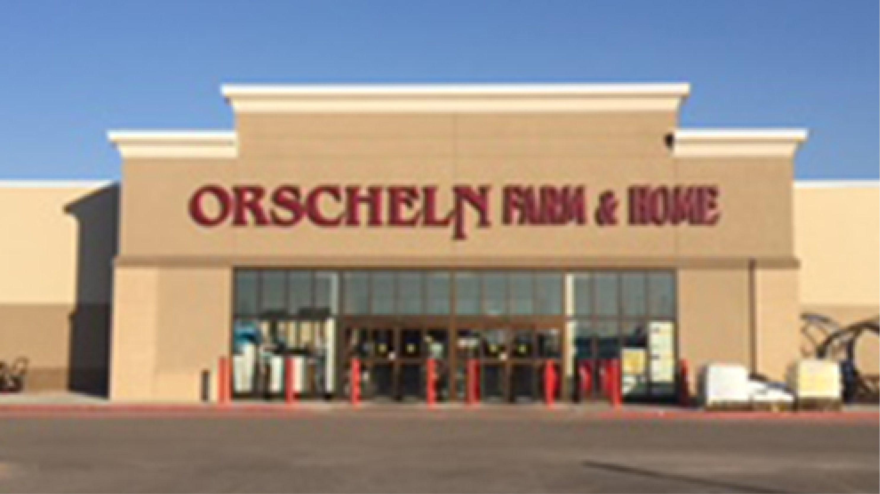 Front view of Orscheln Farm & Home Store in Hutchinson, Kansas 67501