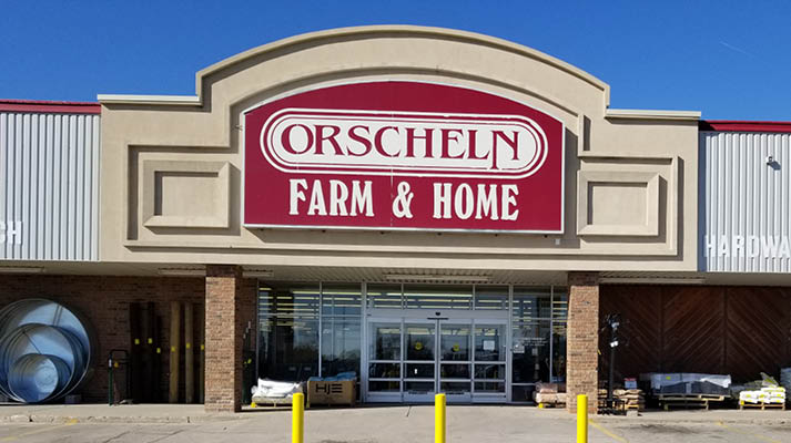 Front view of Orscheln Farm & Home Store in Dodge City, Kansas 67801