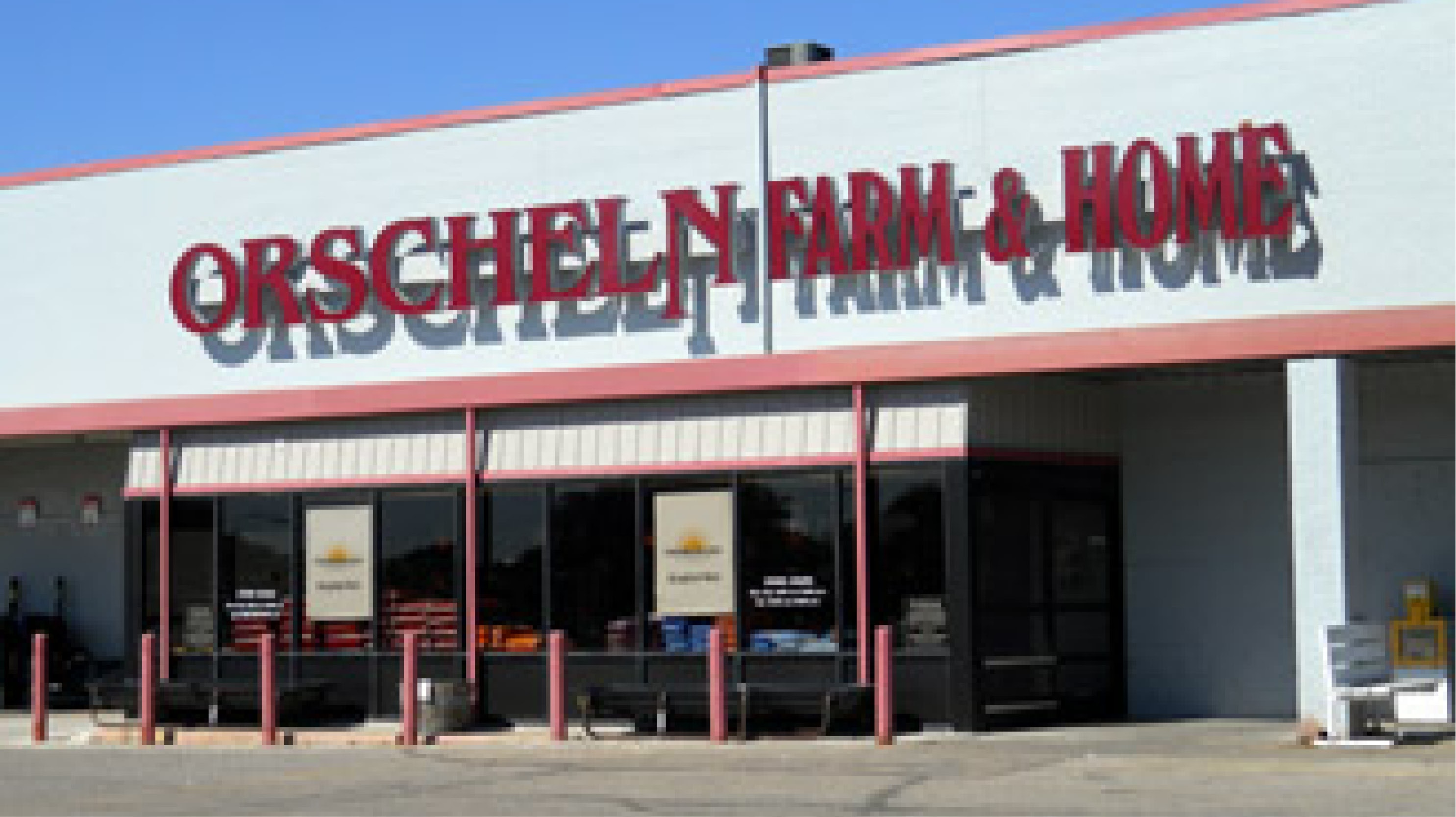 Front view of Orscheln Farm & Home Store in Wellington, Kansas 67152