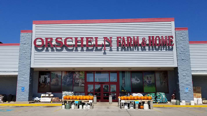 Front view of Orscheln Farm & Home Store in Coffeyville, Kansas 67337