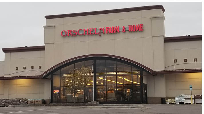 Front view of Orscheln Farm & Home Store in Topeka, Kansas 66604