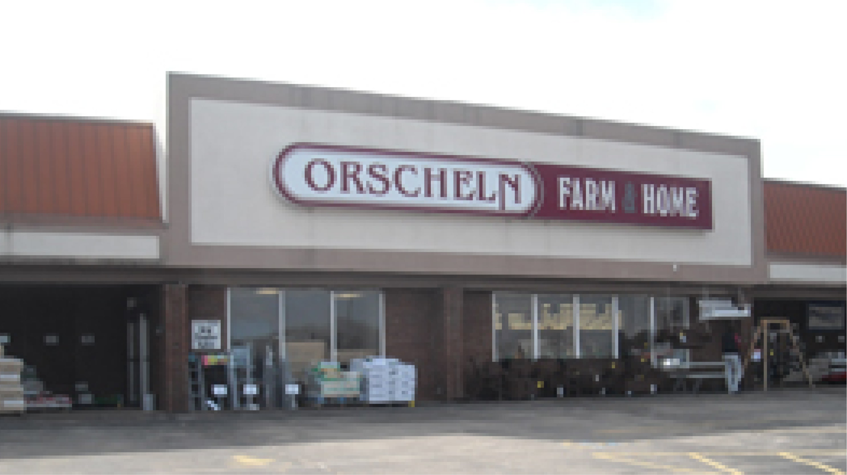 Front view of Orscheln Farm & Home Store in Sullivan, Missouri 63080