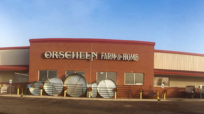 Front view of Orscheln Farm & Home Store in Manhattan, Kansas 66502