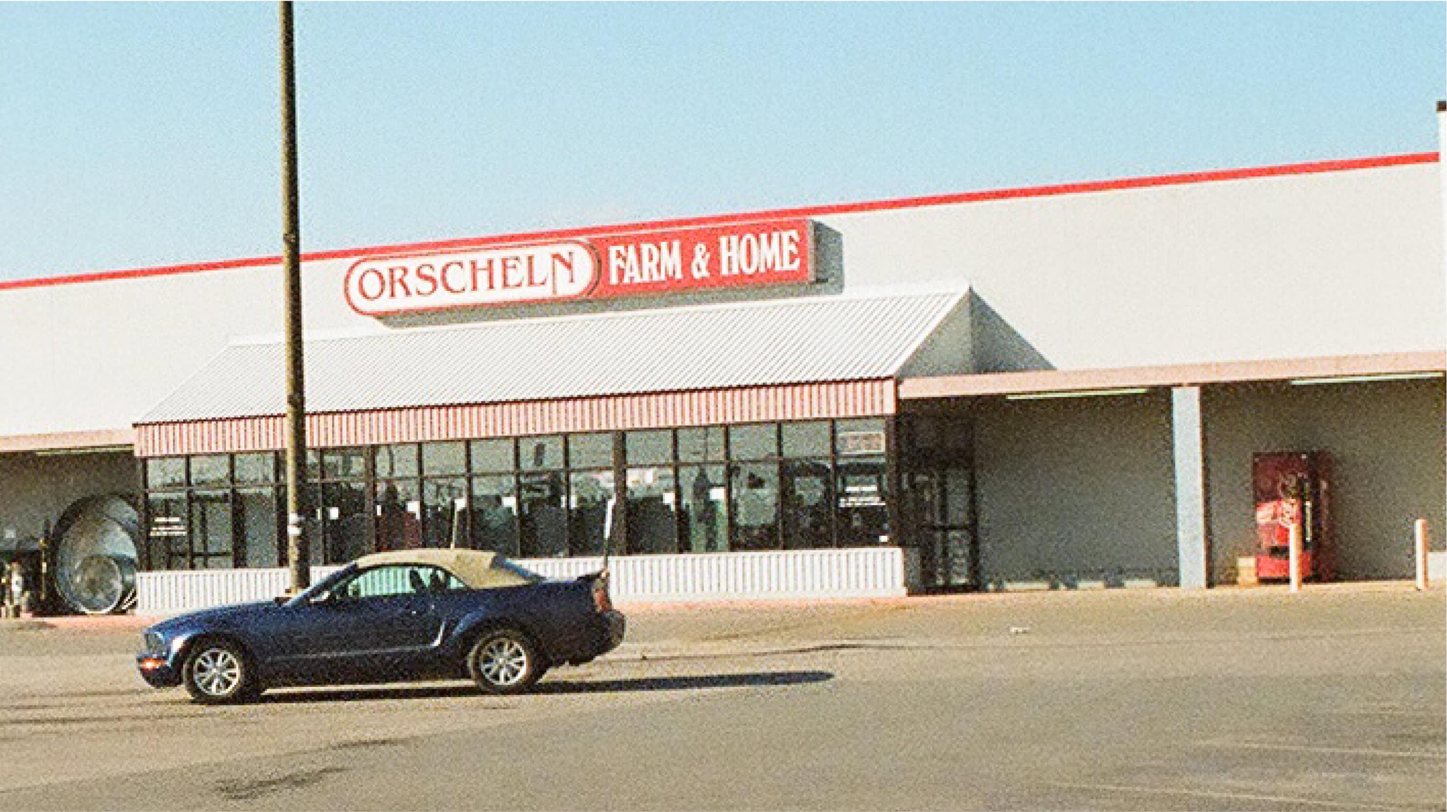 Front view of Orscheln Farm & Home Store in Arkansas City, Kansas 67005-8813
