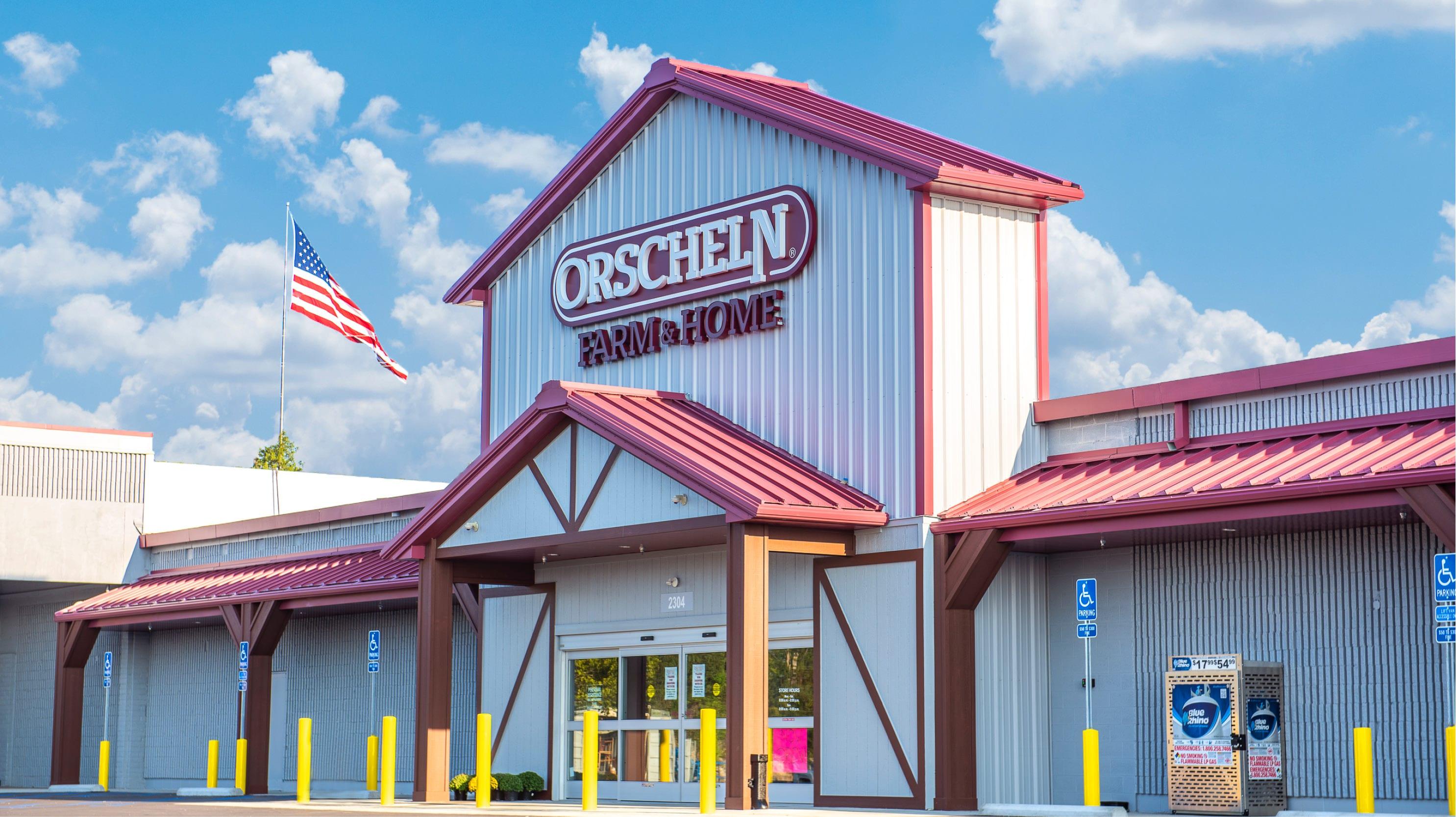 Front view of Orscheln Farm & Home Store in Jefferson City, Missouri 65109