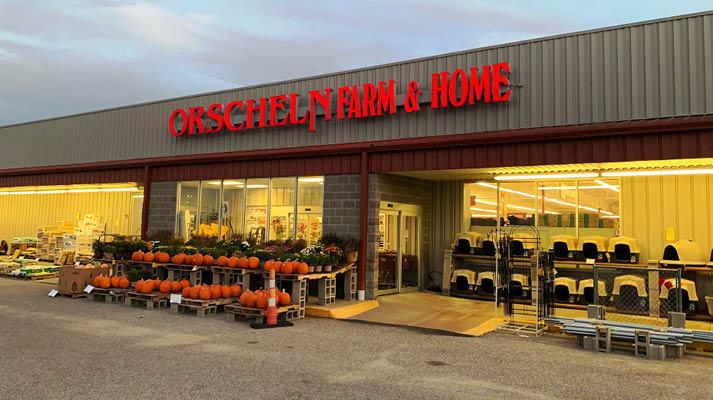 Front view of Orscheln Farm & Home Store in Newton, Kansas 67114