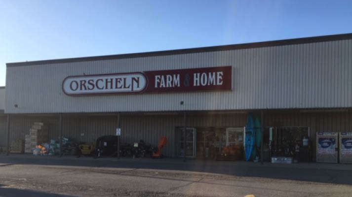 Front view of Orscheln Farm & Home Store in Troy, Missouri 63379-1314