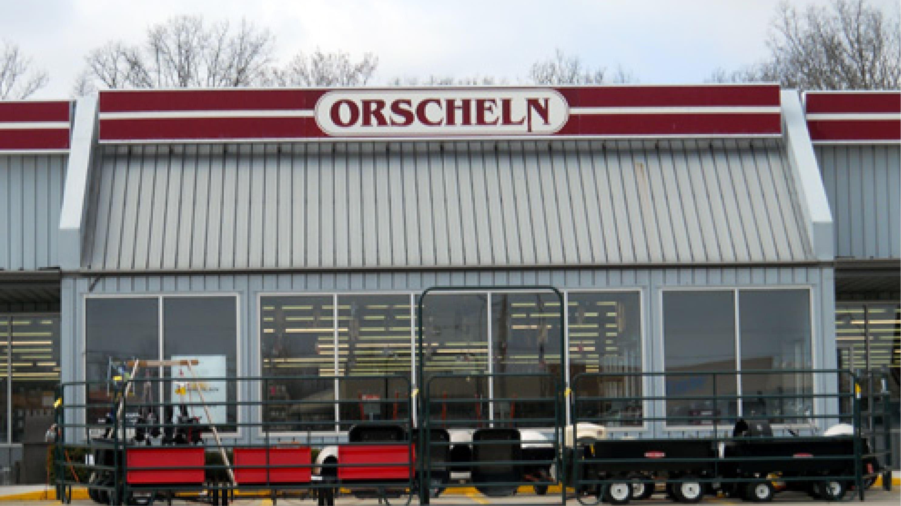 Front view of Orscheln Farm & Home Store in Eldon, Missouri 65026