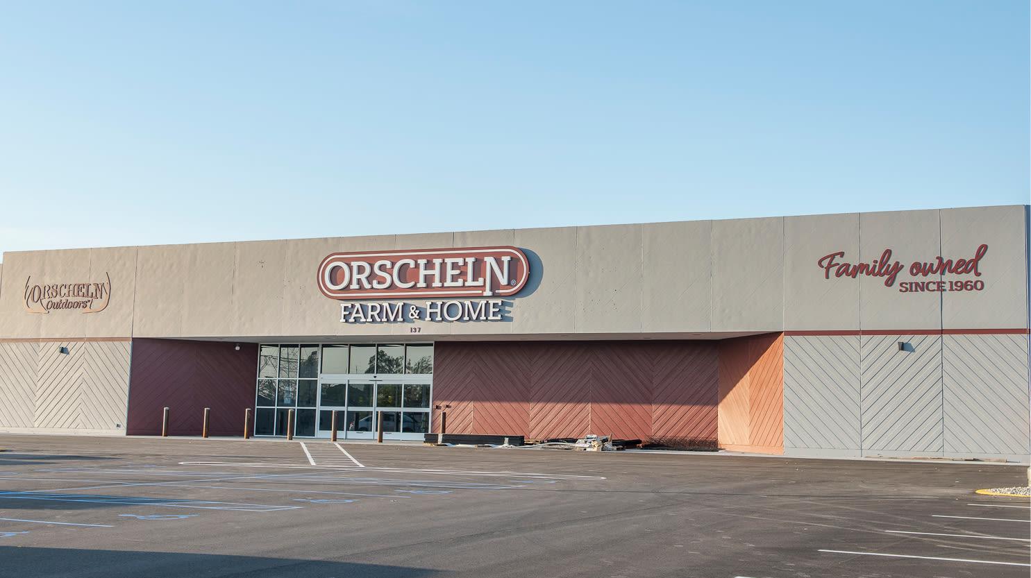 Front view of Orscheln Farm & Home Store in Saint Joseph, Missouri 64506