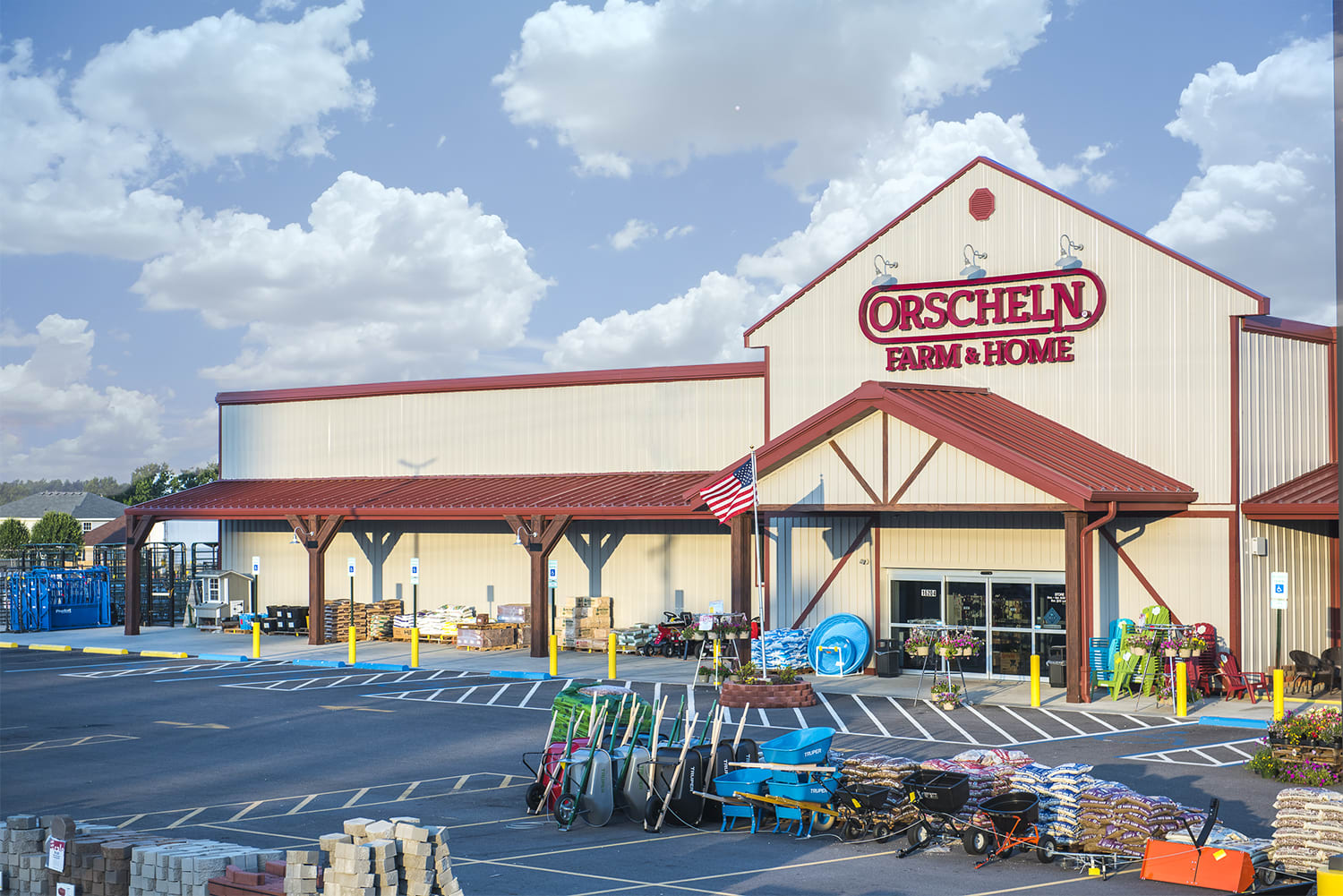 Front view of Orscheln Farm & Home Store in Neosho, Missouri 64850