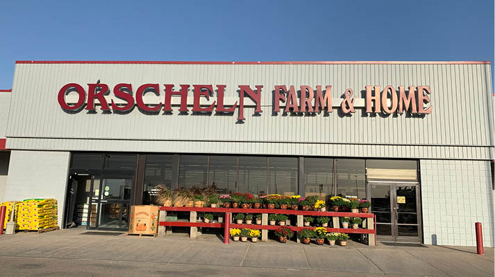 Front view of Orscheln Farm & Home Store in Colby, Kansas 67701
